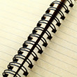 Spiral notebook — Stock Photo #26055859