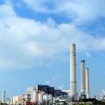 kohle-feuerte elektrische kraftwerk — Stockfoto