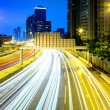 Traffic in city at night — Stock Photo #26546151