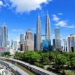 KualLumpur skyline — Stock Photo #26549277
