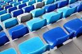 Seat stadium — Stock Photo