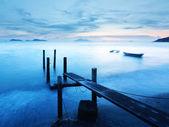 Sunset pier — Stock Photo