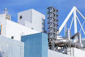 Architektura w zakładzie przemysłowym — Zdjęcie stockowe