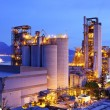 Stock Photo: Industrial plant at dusk