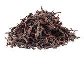 Chinese black tea isolated on white background — Stock Photo