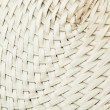 Wicker basket close up — Stock Photo