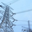 图库照片: Power transmission tower