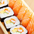 Sushi bento box — Stock Photo