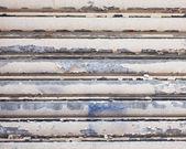 Cracked roller shutter — Stock Photo