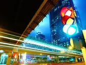 Trafik ışık şehir — Stok fotoğraf