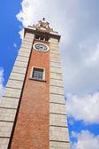 Clock tower in Tsim Sha Tsui , Hong Kong — Stock Photo