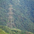 Stock Photo: Power Tower on mountain