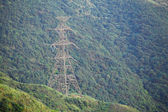 Power Tower on mountain — Stock Photo