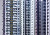 Apartment building in Hong Kong — Stock Photo