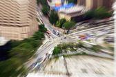 Fütüristik cityscape — Stok fotoğraf