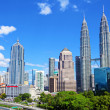 KualLumpur skyline — Stock Photo #27244307