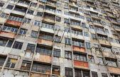 Opuszczony budynek w hong kongu — Zdjęcie stockowe