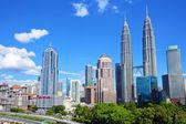 Kuala Lumpur skyline — Stock Photo
