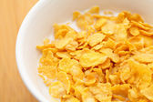 Corn flake close up — Stock Photo