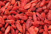 Fruta wolfberry secos cerrar — Foto de Stock