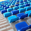 Stock Photo: Seats with staircase aside