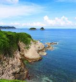 Insel und Ozean — Stockfoto