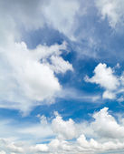 Sunny day cloudscape — Stock Photo