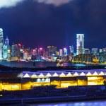hong kong skyline bei nacht — Stockfoto #28265905