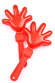 Cheering clap hand tool — Stock Photo