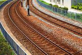 Line of railway — Stock Photo
