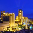 Industrial plant at night — Foto de Stock
