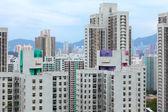 Budynek mieszkalny w hong kongu — Zdjęcie stockowe