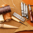 Stock Photo: Craft tool for leather accessories