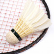 Stock Photo: Badminton rackets