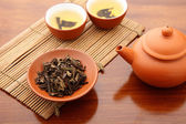 Chinese tea ceremony — Stock Photo