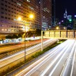 Highway in city at night — Stock Photo #28586555