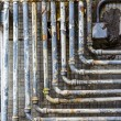 Stock Photo: Many pipes on the wall