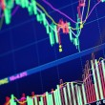 Stock market graph — Stock Photo #29333127