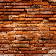 Detail of ancient brick wall — Stock Photo