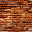 Detail of ancient brick wall — Stock Photo