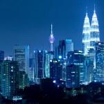 Kuala Lumpur skyline at night — Stock Photo #29640651