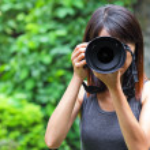 Professional photographer — Stock Photo