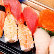 Sushi take away — Stock Photo