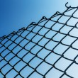 Outdoor Chain link fence — Stock Photo #29865287