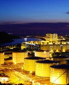Oil tanks for cargo service — Stock Photo