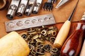 Craft tool for leather accessories — Foto Stock