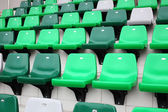 Audience seat in stadium — Foto de Stock