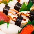 Sushi , traditional japanese food — Stock Photo