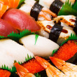 Assorted japanese sushi — Stock Photo #30367847