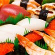 Assorted japanese sushi — Stock Photo #30367861